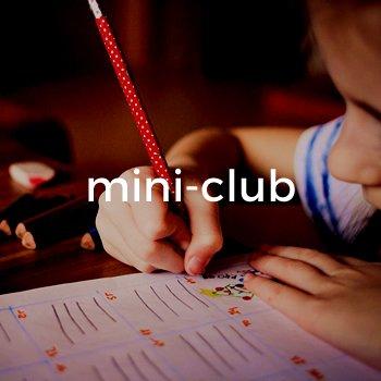 Mini-Club para niños en el Club Esportiu Valldoreix