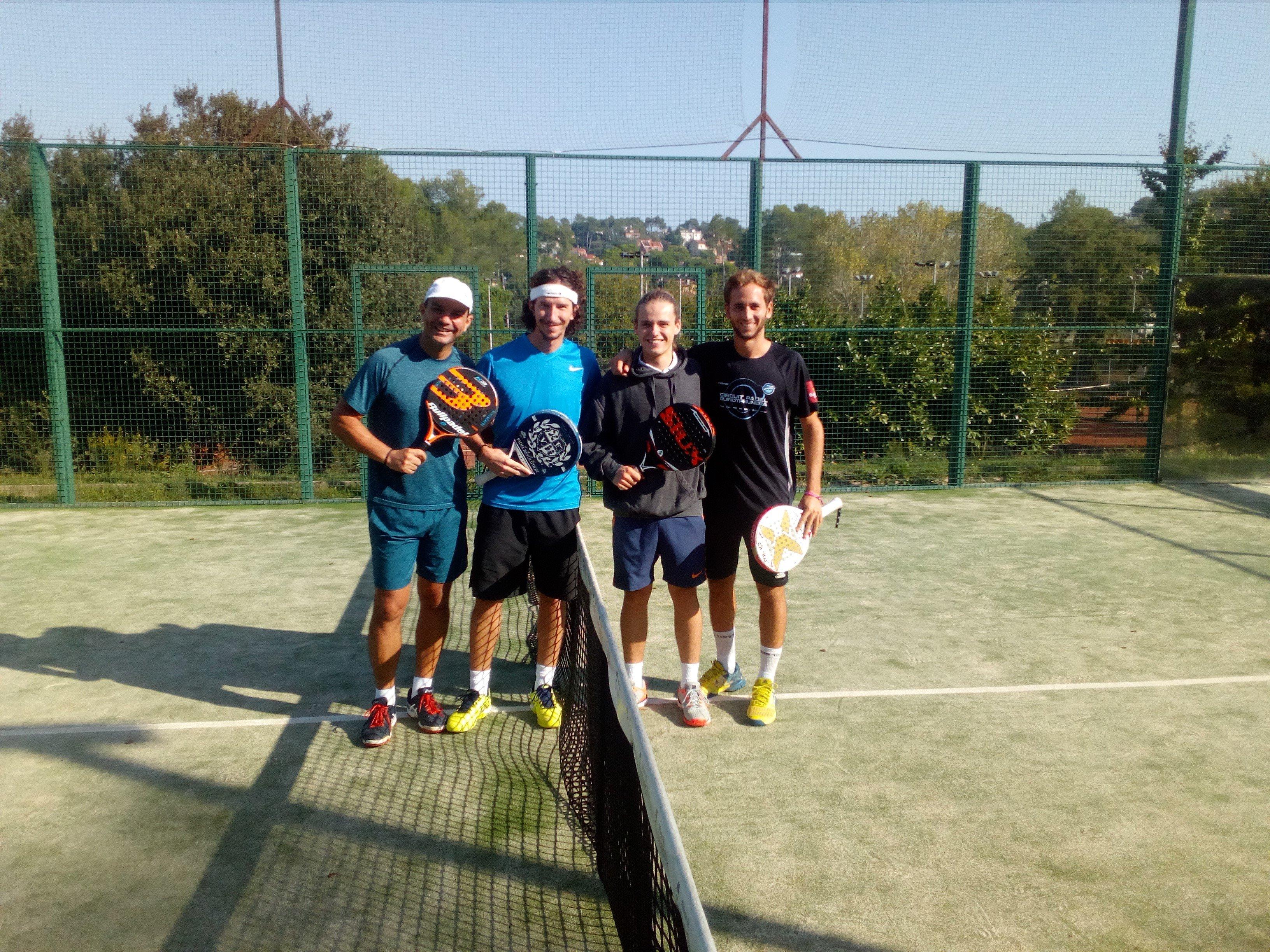 Final del torneo social de pádel del CEV (Segunda categoría)