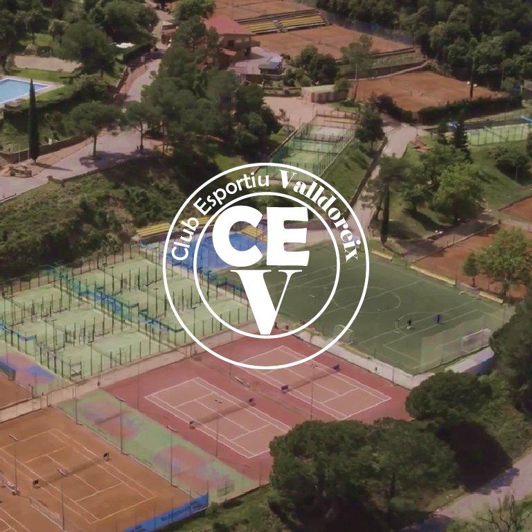 Vista aérea del Club Esportiu Valldoreix (Sant Cugat del Vallés)