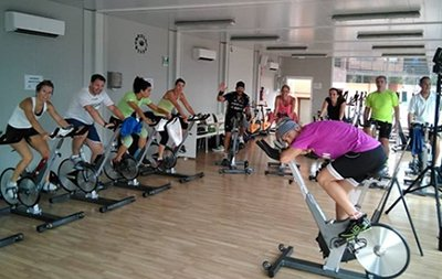 Spinning marathon en el Club Esportiu Valldoreix