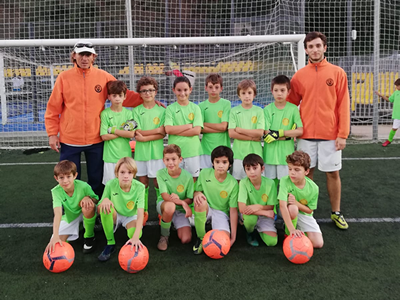 Equipo benjamin (A) de fútbol del CEV