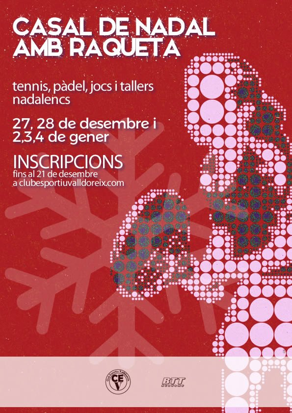 Poster Casal Nadal 2018