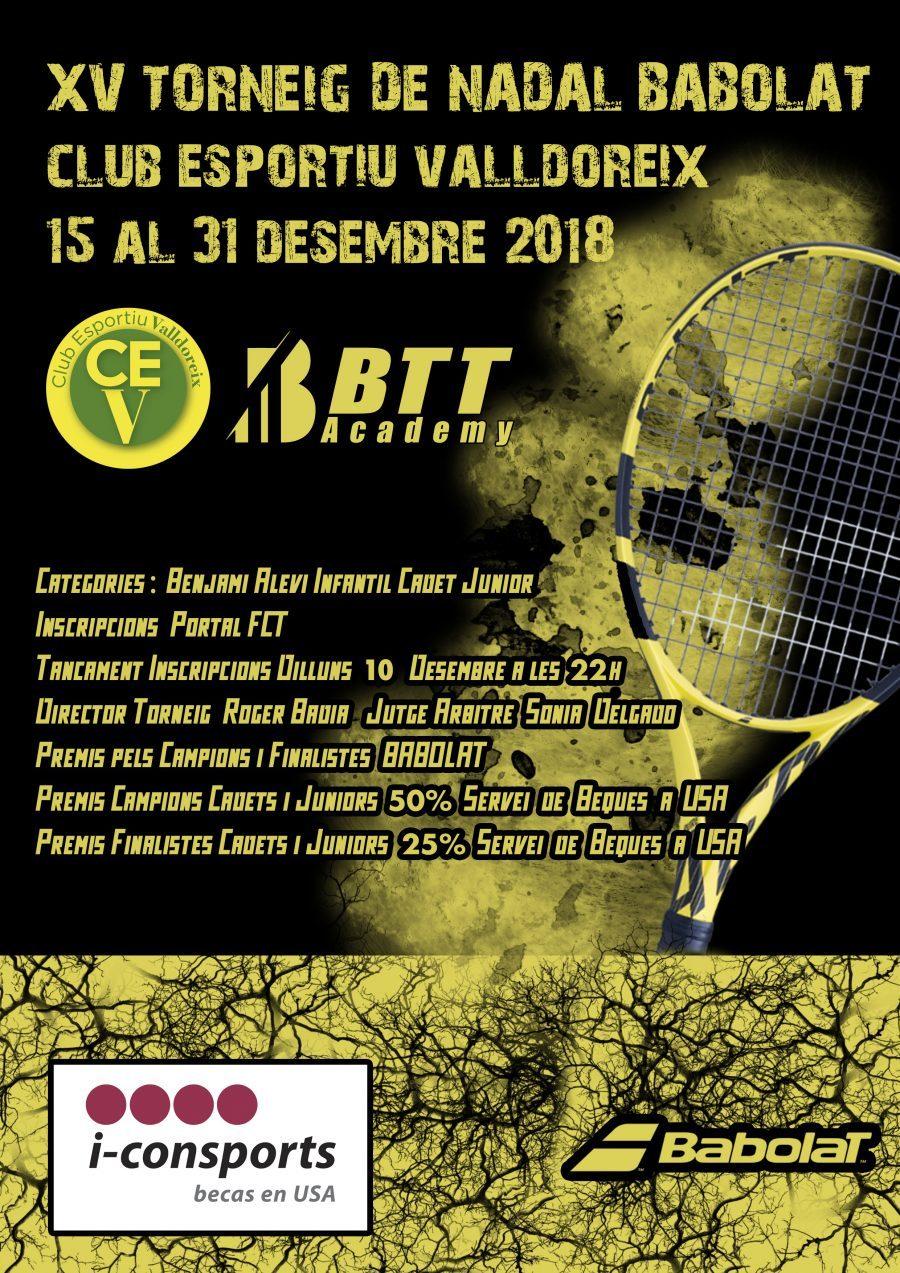 Torneig nadal Tennis Babolat