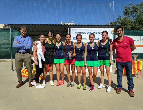 Subcampeonas Campeonato Catalunya Padel Femenino Categoría Oro
