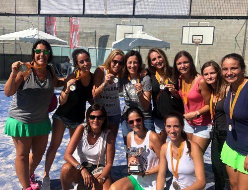 Subcampeonas Campeonato Catalunya Pádel Femenino Categoría Plata