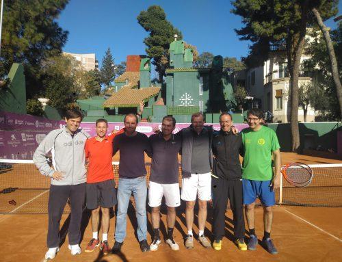 Ascenso a Categoría Oro  Campeonato de Cataluña de Tenis por equipos  +30