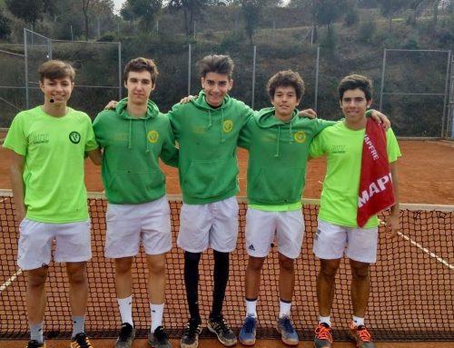 Semifinales Campeonato Cataluña Junior Masculino de tenis